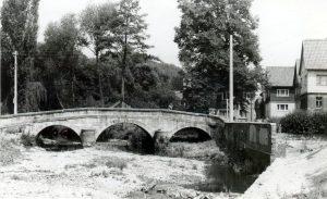 Heubischer Sandstein-Bogen-Brücke